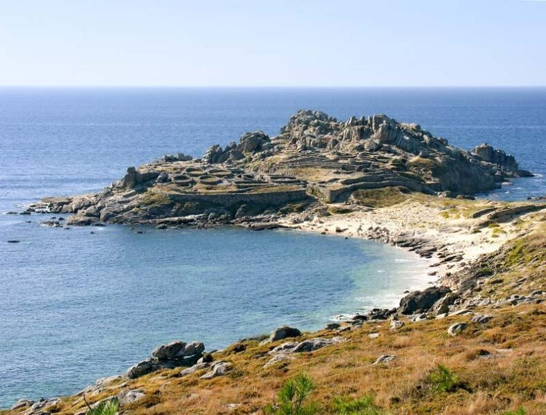 Castro de Baroña, rias Baixas, Galiza