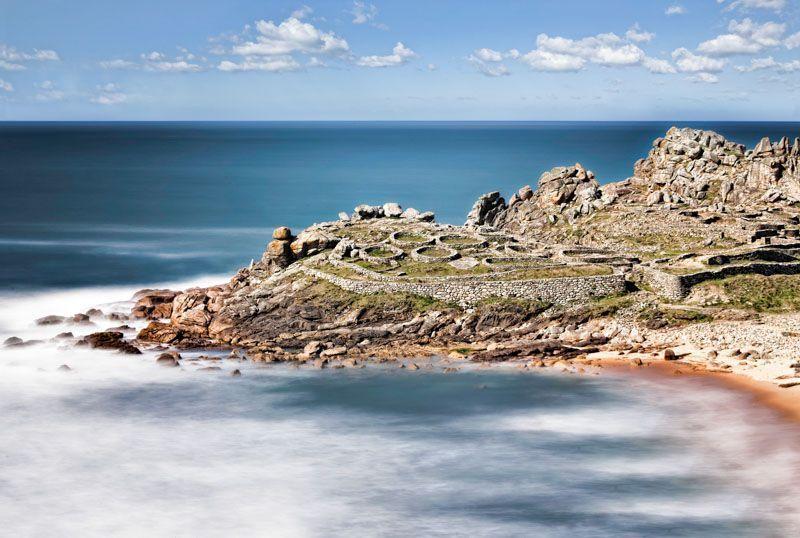 castro de baroña, Rias Baixas, Galicia