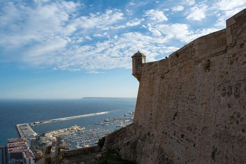 Castillo Santa Barbara, Alicante, Costa Blanca