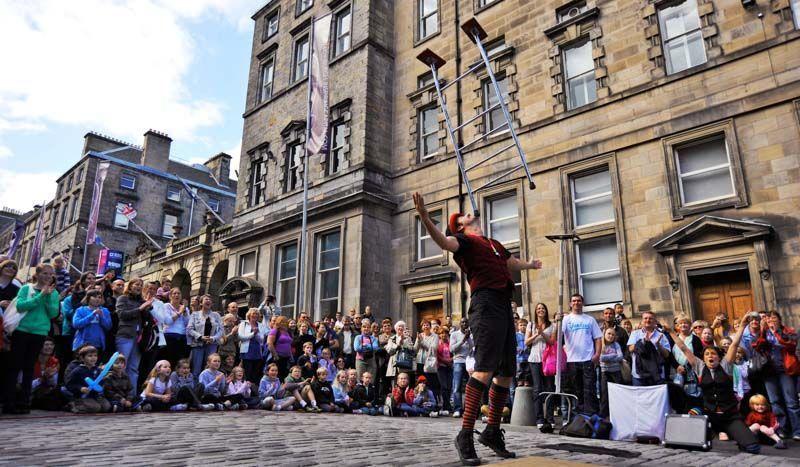 Fringe, Edinburgh