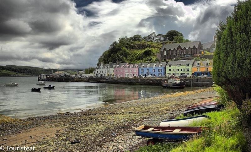 Portree, Isla de Skye, Escocia