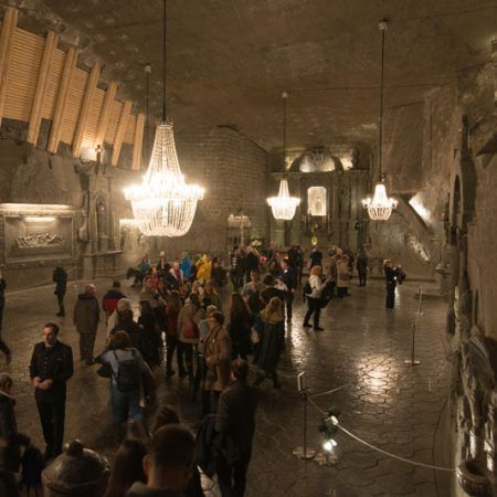 Visitar las Minas de Sal de Wieliczka cerca de Cracovia