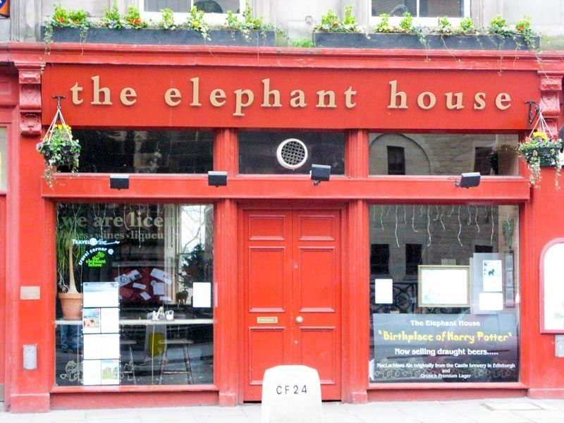 the elephant house, edimburgo