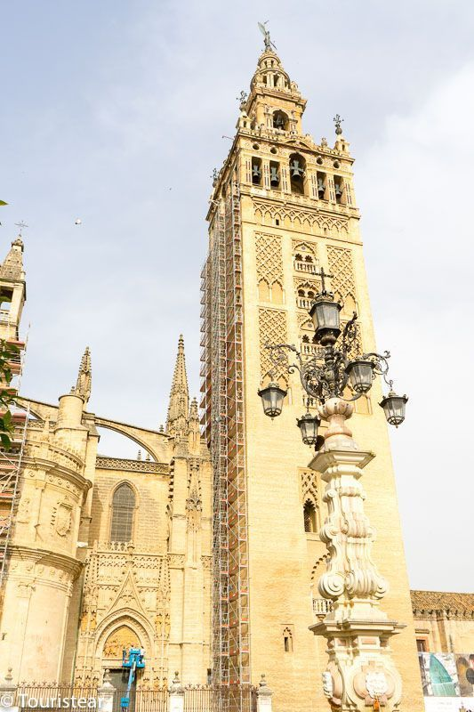 Sevilla, vista de la Giralda