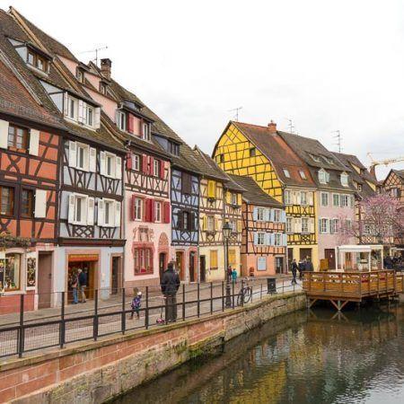 Ruta por la Alsacia, Colmar, Francia