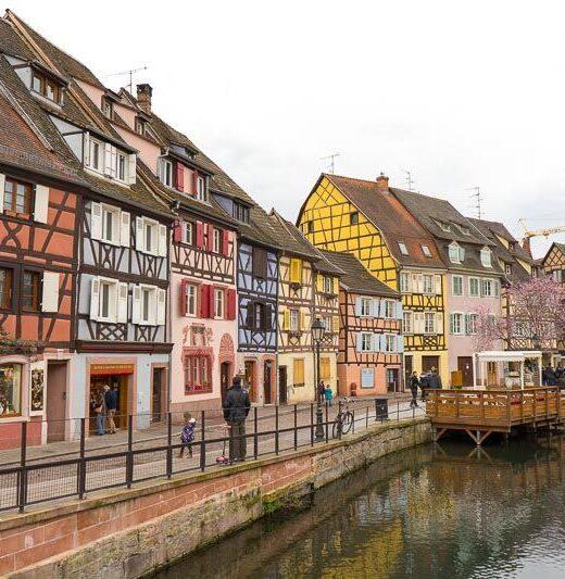 Alsace road trip, Colmar, France