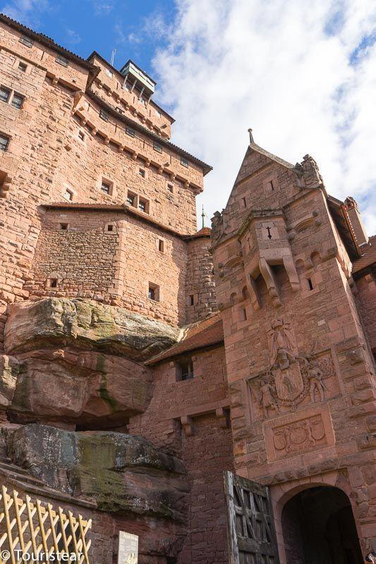 Castillo de Haut-Koenisbourg, La Alsacia, Francia