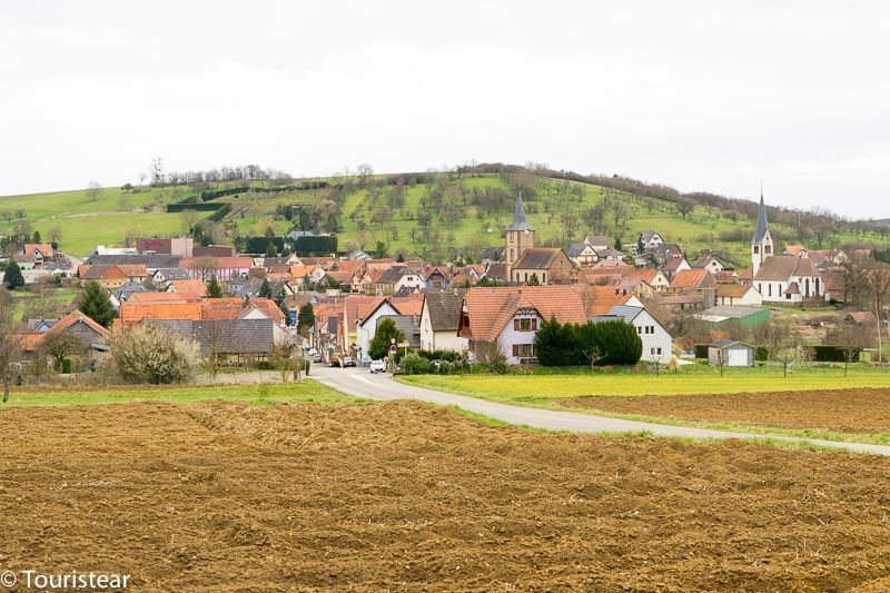 Ruta Francia, La Alsacia, Francia