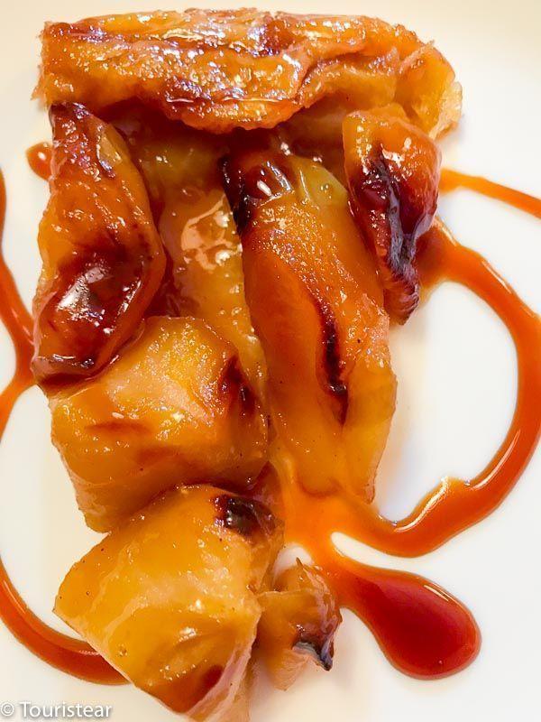 restaurante la aldaba la hiruela, tarta tatin, tarta de manzana, sierra norte de madrid, sierra de madrid