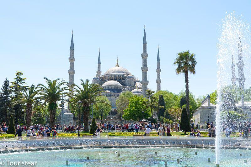 Turquia, Estambul, mezquita azul