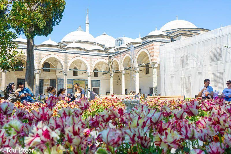 Turquia, Estambul palacio topkapi