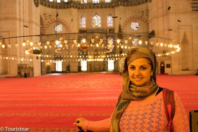 turquia, estambul mezquita vero