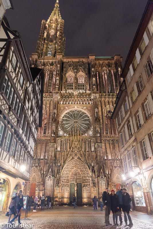 Strasbourg Cathedral, Alsace Capital, France