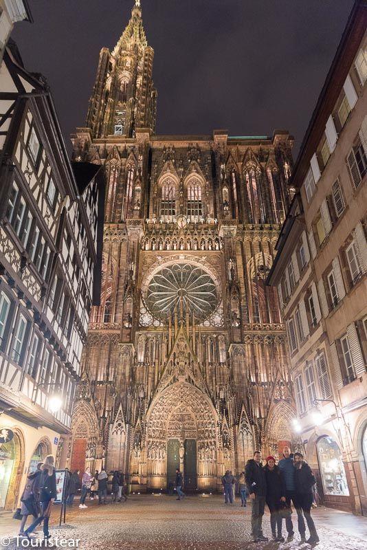 Catedral de Estrasburgo, Capital de la Alsacia, Francia