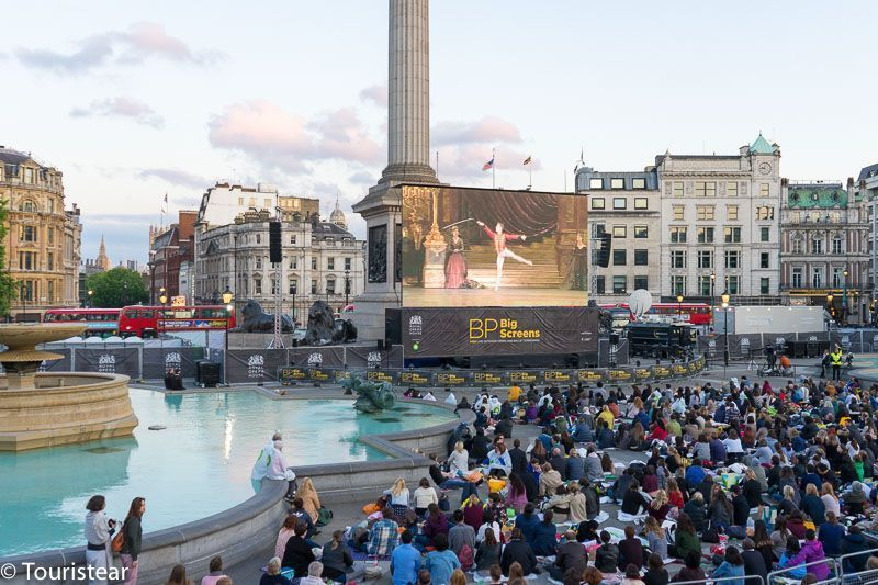 Trafalgar square londres
