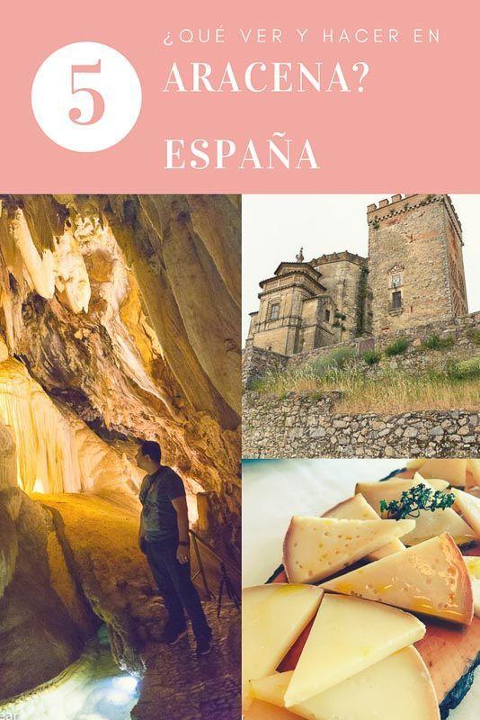 Aracena, que ver y visitar, gastronomía, historia y patrimonio