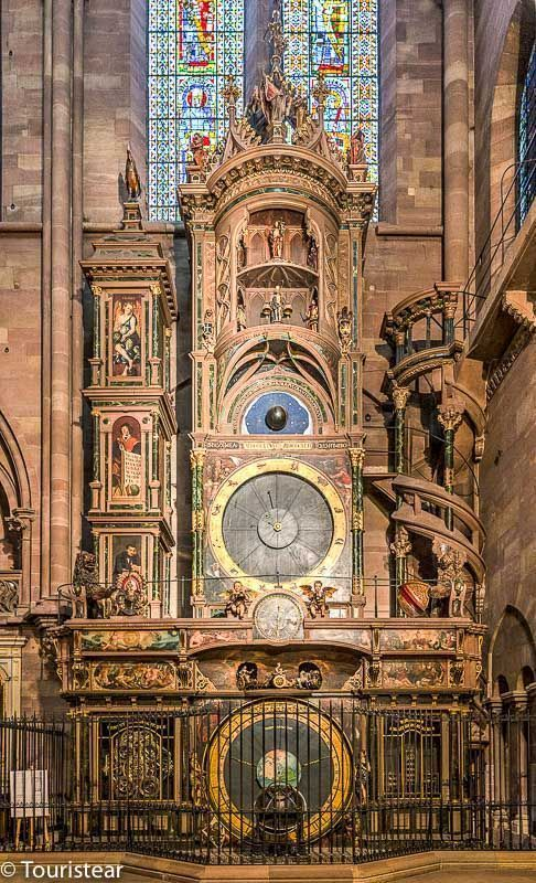 Astronomic clock of Strasbourg Cathedral