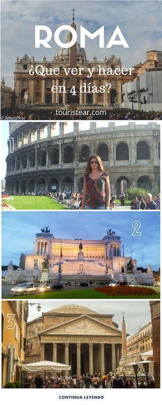 Roma en 4 dias info