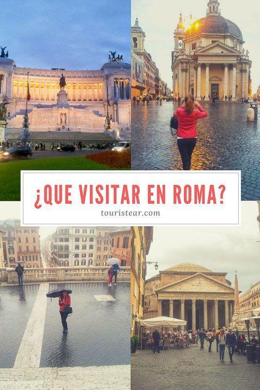 Que ver en Roma, visitas imprescindibles en Roma, Italia