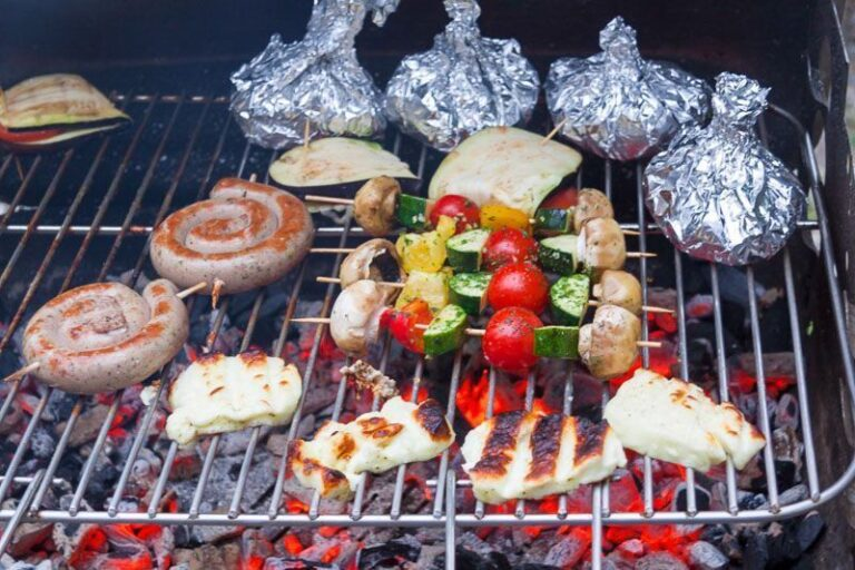 5 recetas para hacer de camping con papel de aluminio