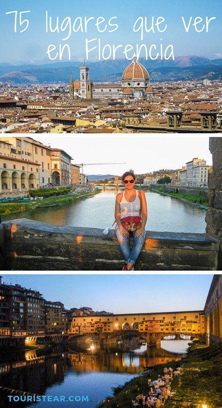 75 lugares que ver en Florencia