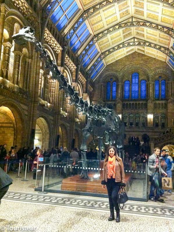 Museo de Historia Natural de Londres, que hacer gratis en londres