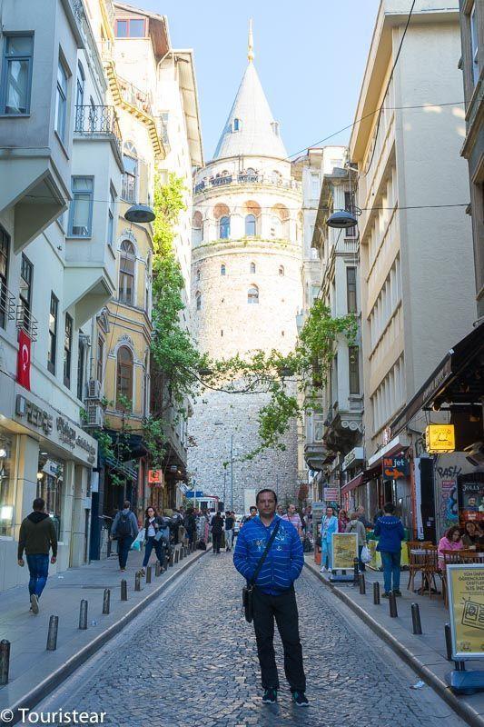 Fer en Torre Galata, Estambul