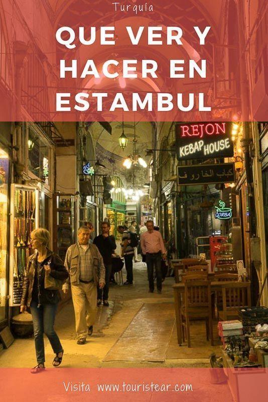 Que ver y hacer en Estambul
