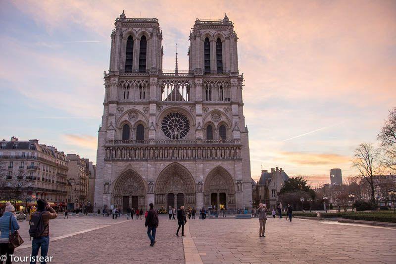 Paris Catedral de Notre Dame, Francia