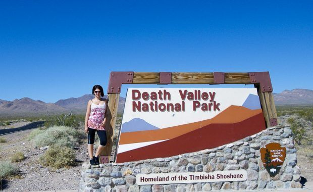 Valle de la Muerte, Death Valley, entrada Vero