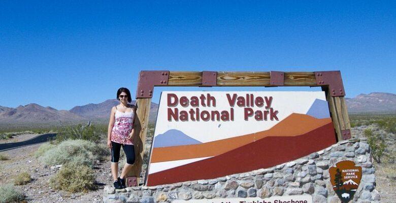 Valle de la Muerte, Death Valley, entrada Vero