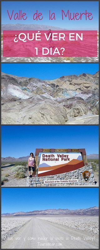 que ver y como llegar al Valle de la Muerte