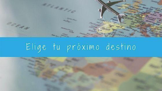 Elige tu próximo viaje