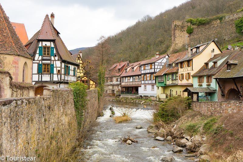 KAYSERSBERG, ruta alsacia francia