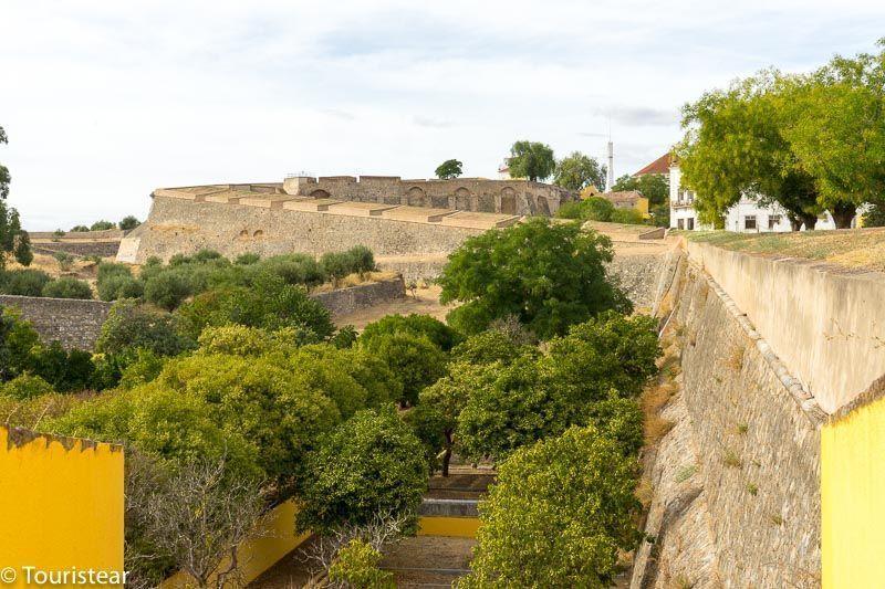 Elvas portugal muralla