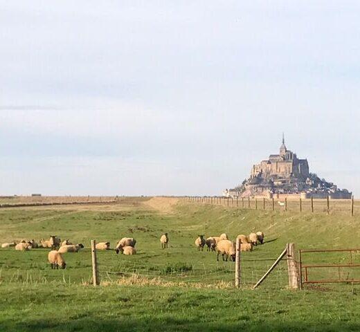 Mont St Michel, normandía, Francia