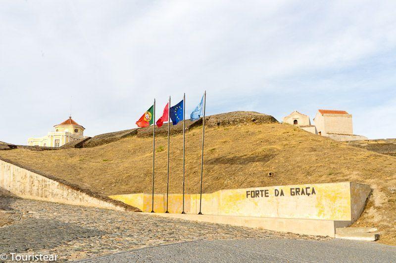elvas portugal forte da gracia
