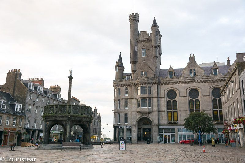 What to see in aberdeen mercat cross