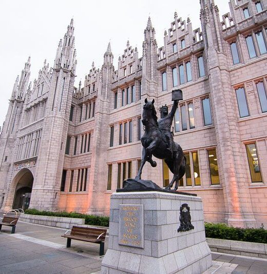 to see in Aberdeen Robert Bruce