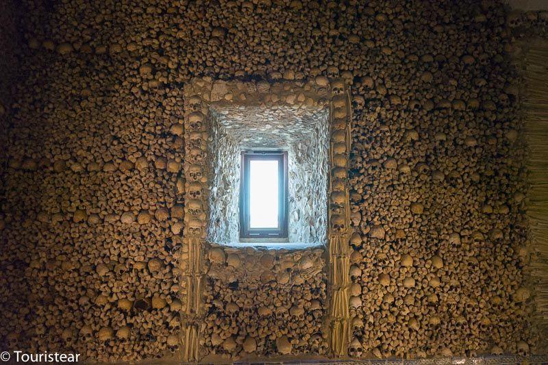 Capilla de los huesos, que ver en evora portugal