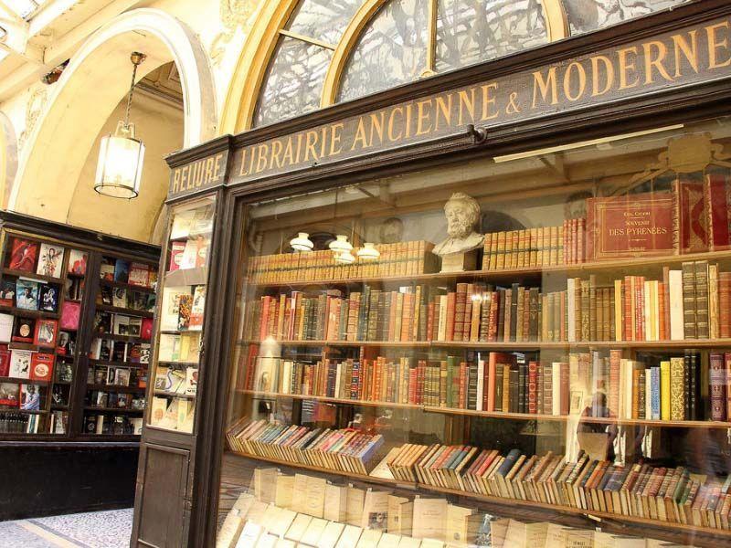Visit galerie Vivienne Paris