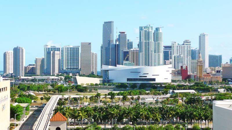 Miami centro skyline