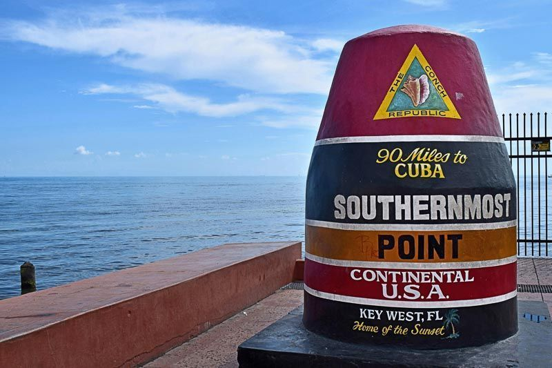 Southernmost Point, Key West, Florida