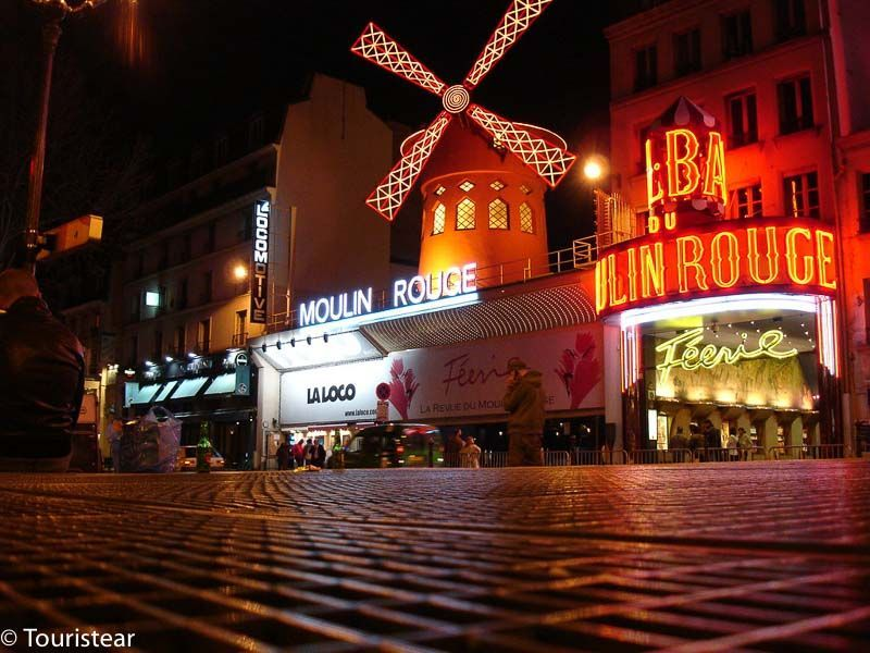 Moulin Rouge of Paris, France