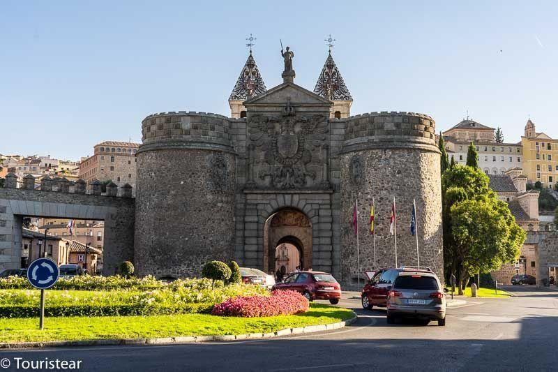 """Toledo in 2 days, """"La Puerta de la bisagra"""""""