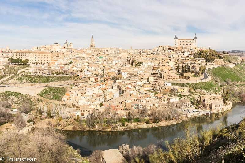 "Toledo in 2 days, views from the ""Mirador del Valle"" (viewpoint)"