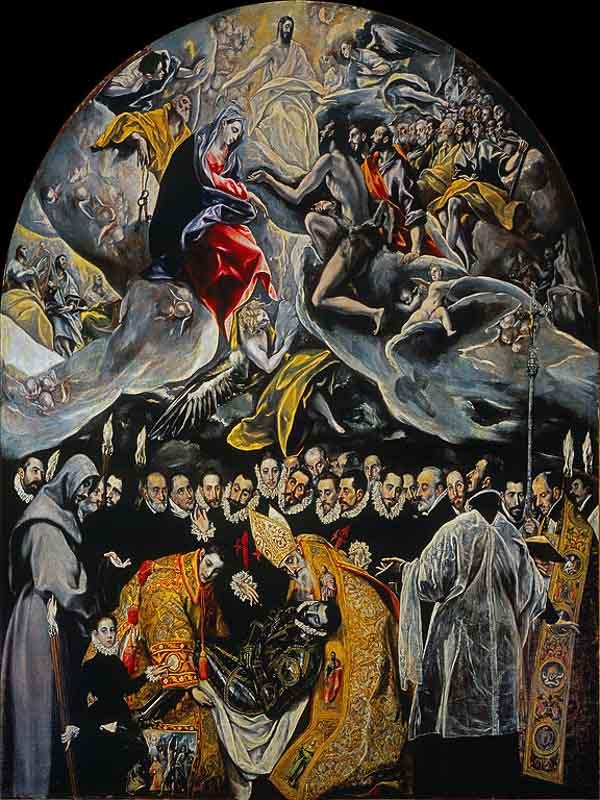 Toledo en 2 días, entierro del señor de Orgaz, cuadro del Greco