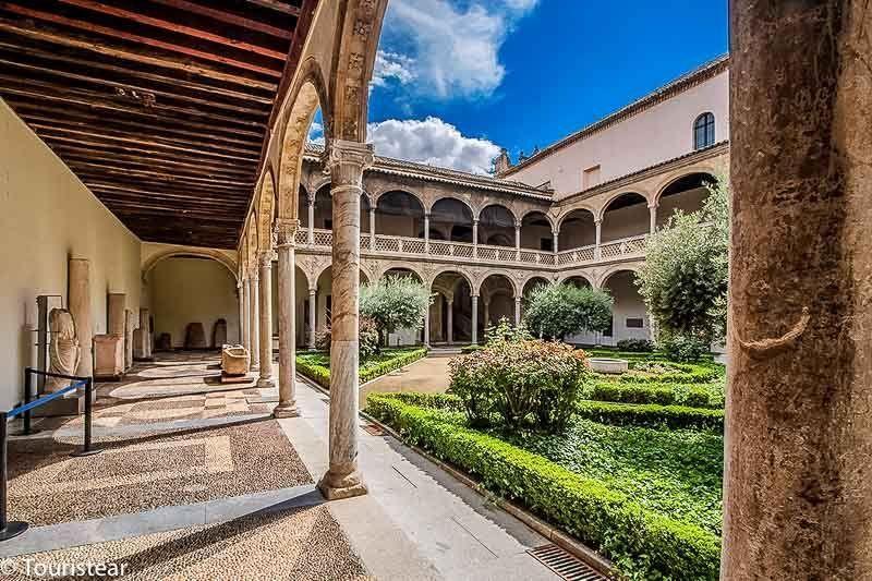 Cloister museum de la Santa Cruz, Toledo in 2 days,