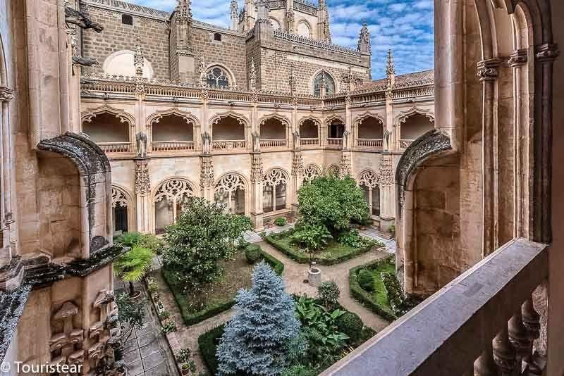 Toledo in 2 days, monastery of San Juan de los Reyes (Claustro)