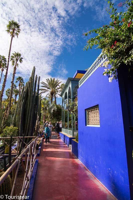 Jardín Majorelle, Marruecos